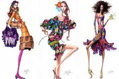 Alexandre Desenhos de Moda