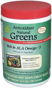 35% OFF Antioxidant Omega 3 Greens - Tropical Traditions