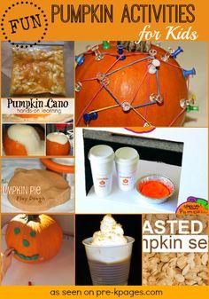 Pumpkin Activities for Kids + Free Printable for Pumpkin Spice Pretend Play!