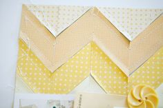 Chevron background tutorial - Marcy Penner
