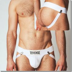 Modus Vivendi  rough braces jockstrap 18115_white  Medium