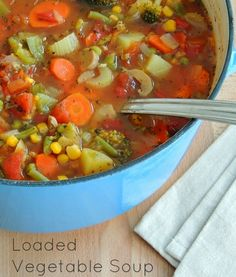 Home Solutions: Loaded Vegetable Soup