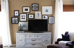 Series of frames