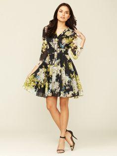 Gathered Cotton Henley Dress by Cynthia Rowley on Gilt.com