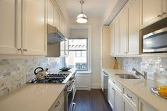 Galley Kitchens That