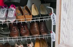 Beat Back Your Shoe Pile with These Two Steps