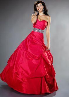 Vestidos de noche de color rojo   Rojo pasión