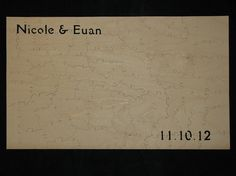 wooden guest book puzzle, guest books, guestbook puzzl, puzzles, weddings