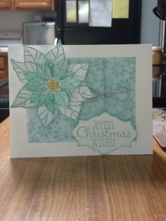 Joyful Christmas stamp From Stampin Up