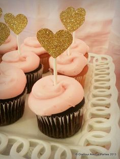 """Photo 3 of 35: Spa & Beauty Themed / Birthday """"Pink and Gold Spa Party"""" 