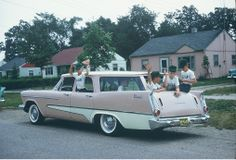 1957 Plymouth station wagon