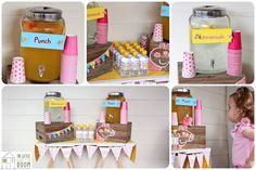 Peppa Pig Twins Party with LOTS of CUTE IDEAS via Kara's Party Ideas | KarasPartyIdeas.com #Pig #Party #Ideas #Supplies (8)