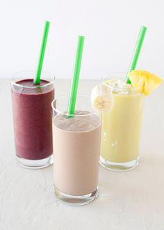 almond milk smoothies