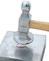 ❥ hammering wire