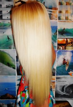 i want my hair to be this long <3