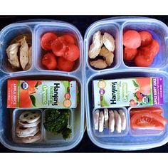 Healthy lunchbox ideas | packed in @EasyLunchboxes via gwynethmademedoit - instagram