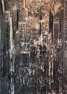 "Saatchi Art Artist: dario moschetta; Paint 2014 New Media ""New York 16"""