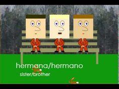 Basic Spanish: Family Members (Part 1 of 2) - YouTube