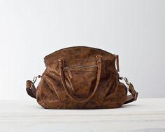 Leather messenger bag leather shoulder bag leather by milloo