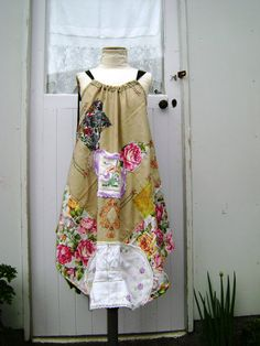 i need to make a dress in this style-so easy going!