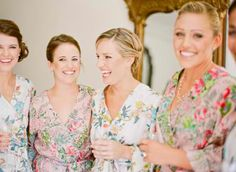 robes for the bridal party #plumprettysugar #robes #bridal #bridesmaids http://store.plumprettysugar.com/