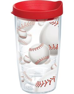 New Arrivals | Baseballs - Wrap with Lid | Baseballs - Wrap with Lid | Tumblers, Mugs, Cups | Tervis