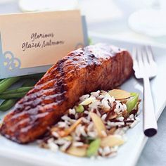 glaze salmon, grilled salmon, brown sugar, fish, colors, healthy eating, cooking tips, health foods, salmon recipes