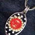 Bingo Marker Spoon Pendant (Jewelry Tutorial)