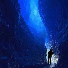 The Blue Tunnel in Sweden