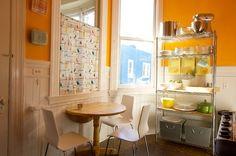 bright and cheery kitchen!