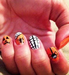 Halloween Nails girls nails, fashion ideas, fall nails, christmas holidays, nail arts, nail idea, halloween nail designs, halloween nail art, halloween nails