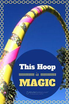 #Win a Hoola Monsters Kids DVD, kids hoop & adult hoop from @5minutesformom