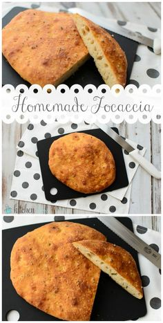 Homemade Focaccia
