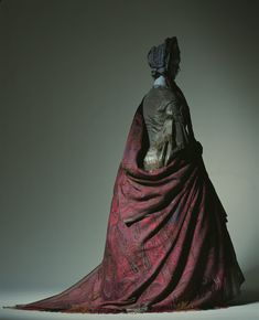Cashmere Shawl, 1850s-1860s. The Kyoto Costume Institute