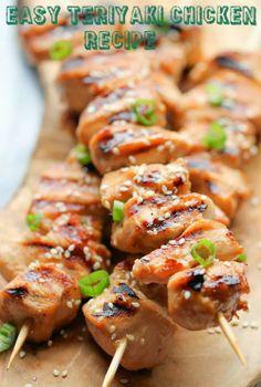 Easy Teriyaki chicken recipe..