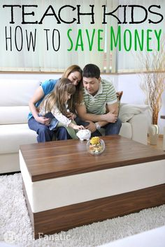 Learning how to save money can be a difficult concept especially for children. Here are some MUST read tips to help teach your kids about saving money.
