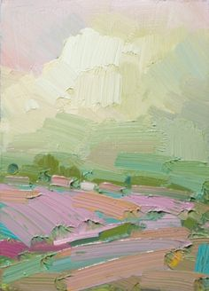 great colors and impasto