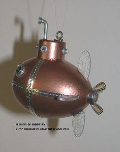submarine ornament