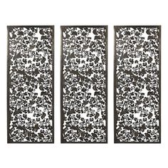 I pinned this Ginkgo Wall Plaque - Set of 3 from the ARTERIORS Home event at Joss and Main!