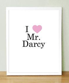 i <3 mr. darcy