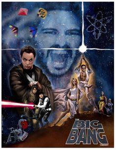 Star Wars + Big Bang = Awesome