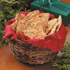 Cheesy Pita Crisps - use Joseph's pitas