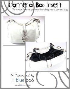 Make your own camera bag!