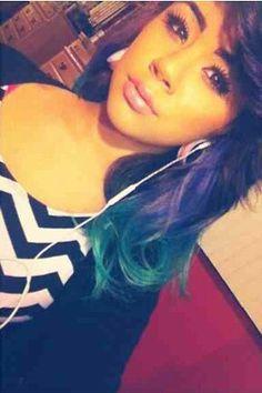 more hair fever dyed hair 1Yuleema Imaginee 2014 Blue Hair