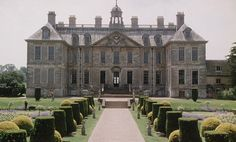 Belton House was used for the interior and exterior filming of Rosings Park in the BBC version of Jane Austen's Pride & Prejudice