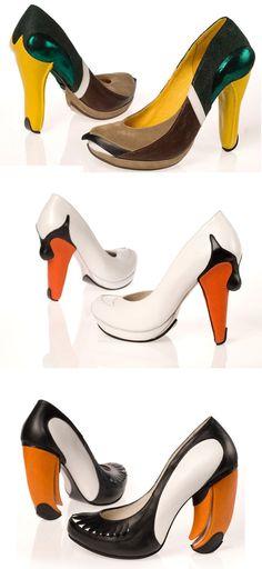 bird shoes by Kobi Levi
