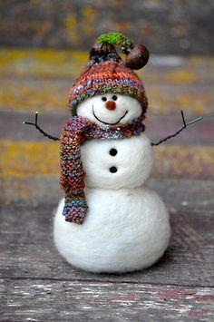 snowman appeal, snowmen, felt snowman, frosti