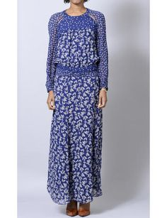 Bird: Etoile Isabel Marant Precious bilitis floral dress.