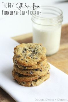 The Best Gluten-Free Chocolate Chip Cookies!