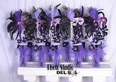 masquerade table decorations - Google Search
